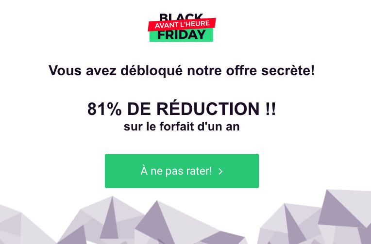 Black Friday PureVPN Popup